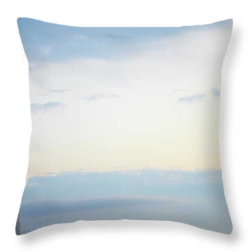 Outdoors Throw Pillow featuring the photograph Portland Head Lighthouse At Sunrise by Thomas Northcut