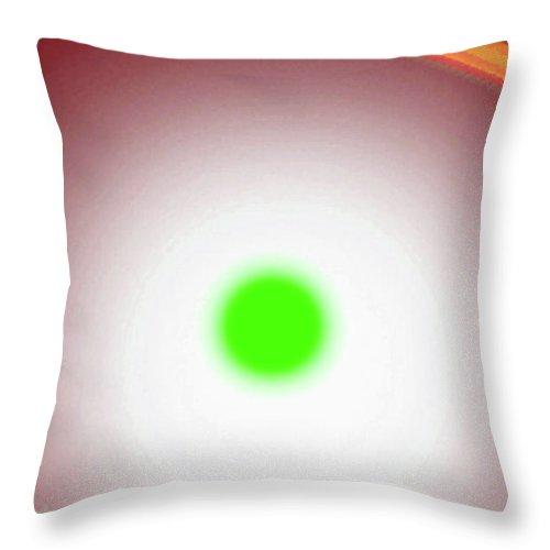 Walter Paul Bebirian Throw Pillow featuring the digital art 10-17-2008xabcdefghij by Walter Paul Bebirian