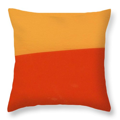 Abstract Throw Pillow featuring the photograph Abstract Decor 008 by Denise Bossarte