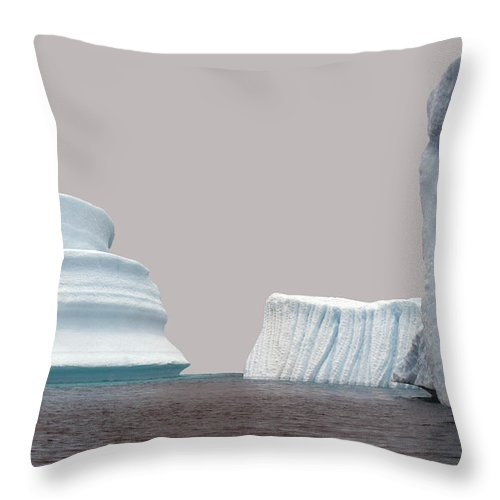 Iceberg Throw Pillow featuring the photograph Iceberg by Jim Julien / Design Pics