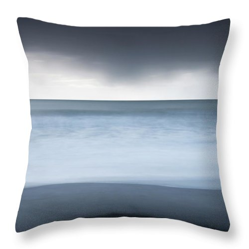 Scenics Throw Pillow featuring the photograph Iceland by Jeremy Walker