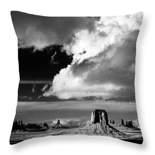 F3-a-0130-b Throw Pillow featuring the photograph After A Spring Time Storm by Paul W Faust - Impressions of Light