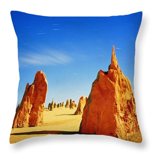 Scenics Throw Pillow featuring the photograph Australia, Western Australia by Paul Souders