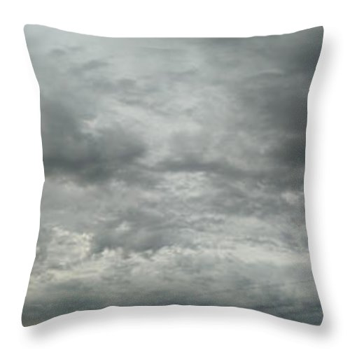Sky Throw Pillow featuring the photograph Awe by Jeff Thomann