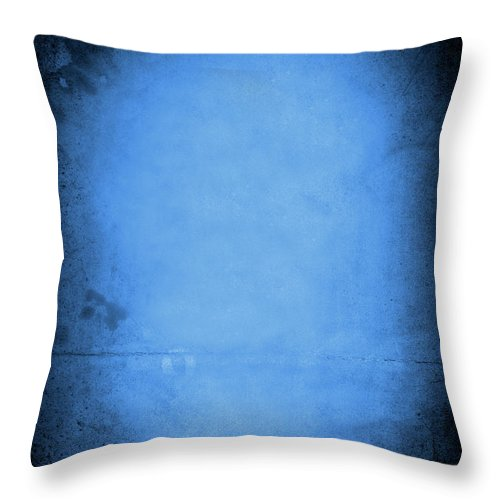 Burnt Throw Pillow featuring the photograph Blue Drama by Thepalmer