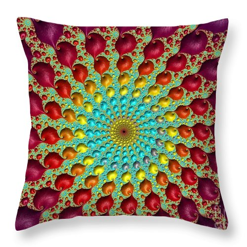Frax Throw Pillow featuring the photograph Close The Circle. by Minnetta Heidbrink