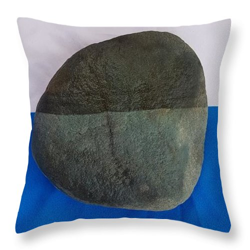 Contrast Throw Pillow featuring the photograph Contrast by Paola Baroni