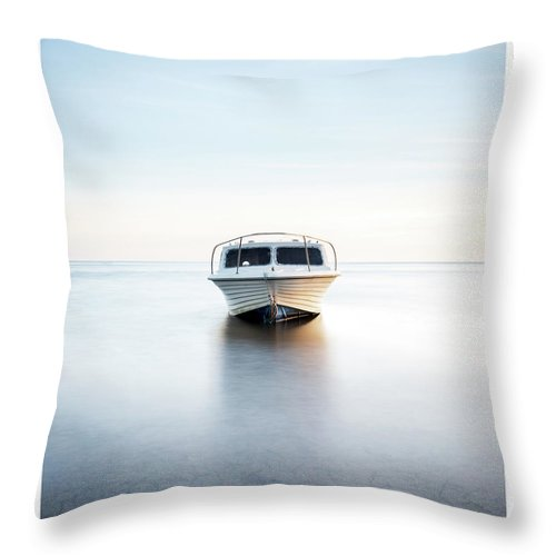 Lytham Throw Pillow featuring the photograph Cruiser by Mark Mc neill