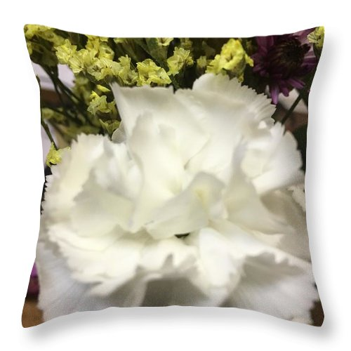 Throw Pillow featuring the photograph Decision by Gewanda Parker