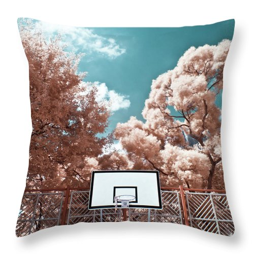 Tranquility Throw Pillow featuring the photograph Digital Infrared Photos by Terryprince
