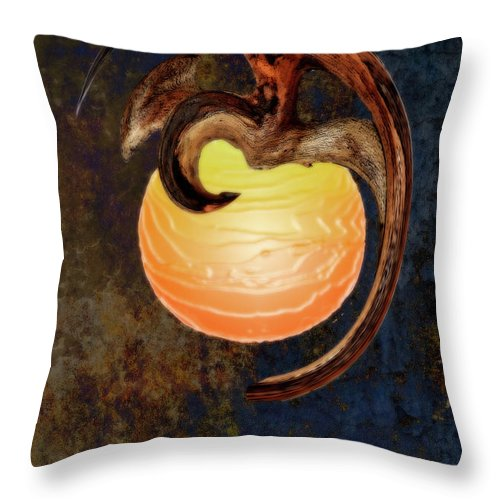 Dragon Sphere Throw Pillow For Sale By Gregory Steele 16 X 16