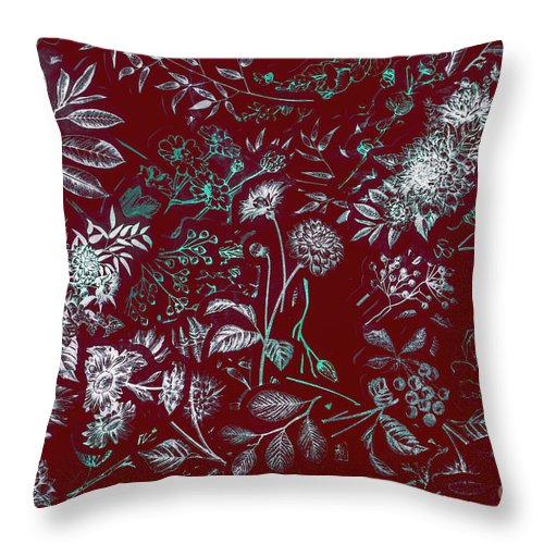 Flower Throw Pillow featuring the photograph Exotic Harmony by Jorgo Photography - Wall Art Gallery