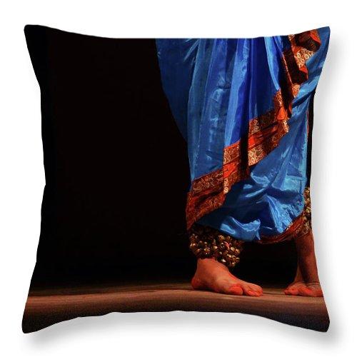 Expertise Throw Pillow featuring the photograph Feet - The Soul Of Dance by Avishek Saha