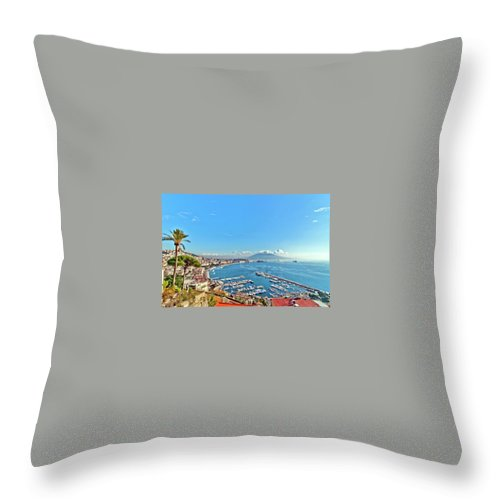 Florence Holiday Deals Throw Pillow featuring the photograph Florence Holiday Deals - Citrus Holidays by Ross Taylor
