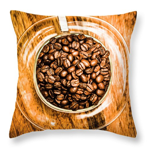 Food Throw Pillow featuring the photograph Full Of Beans by Jorgo Photography - Wall Art Gallery