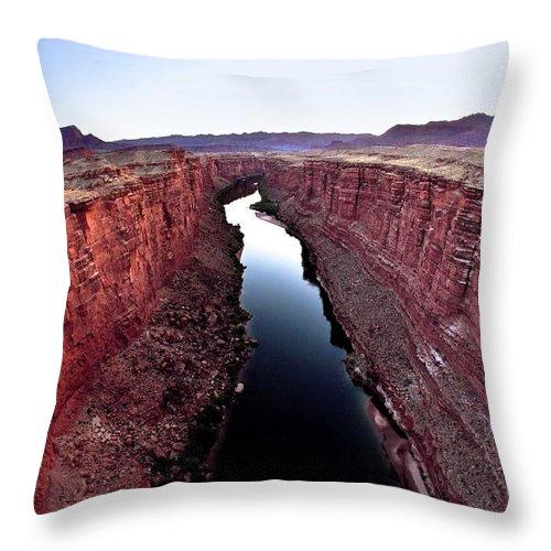 Scenics Throw Pillow featuring the photograph Grand Canyon, Arizona, Usa by Design Pics/richard Wear