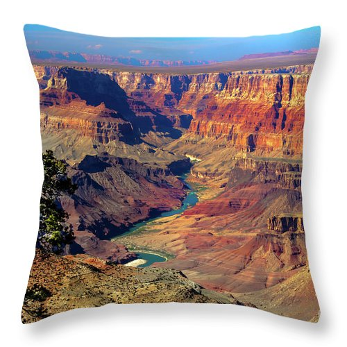 Grand Canyon Throw Pillow featuring the photograph Grand Canyon Sunset by Robert Bales