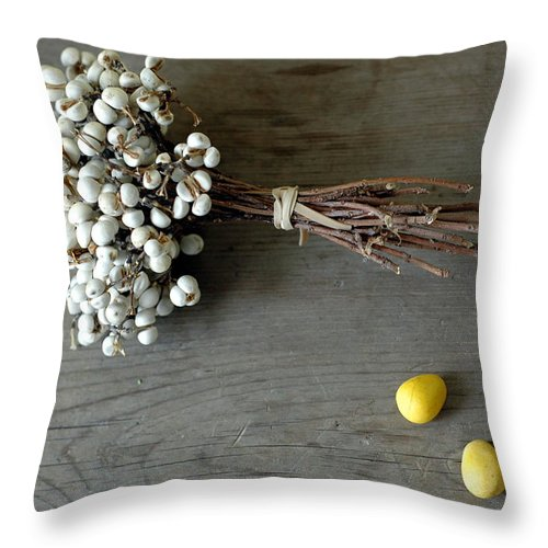 Easter Throw Pillow featuring the photograph Happy Easter by Jennifer Causey