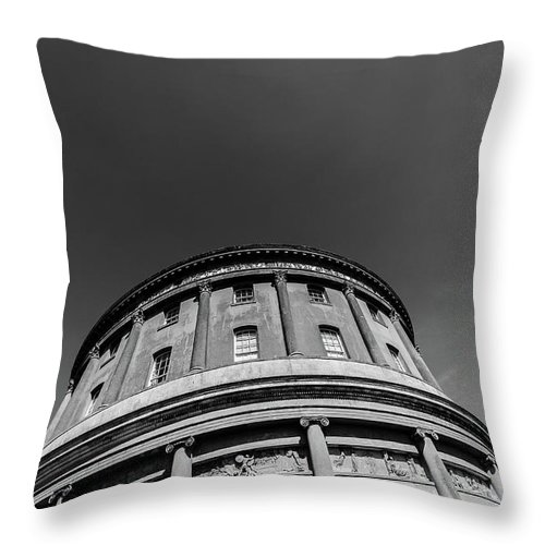 Young Girl Throw Pillow featuring the photograph Ickworth House, Image 16 by Jonny Essex