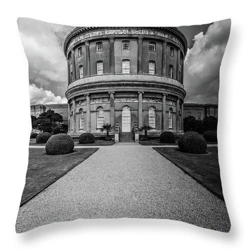 Young Girl Throw Pillow featuring the photograph Ickworth House, Image 19 by Jonny Essex