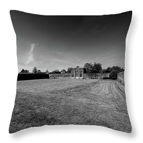 Young Girl Throw Pillow featuring the photograph Ickworth House, Image 21 by Jonny Essex