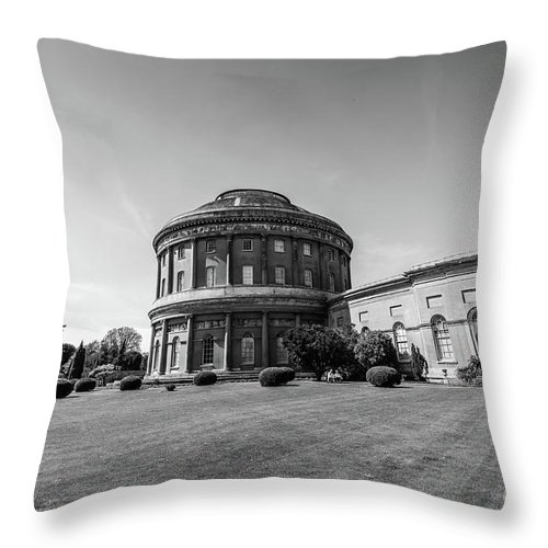 Young Girl Throw Pillow featuring the photograph Ickworth House, Image 38 by Jonny Essex