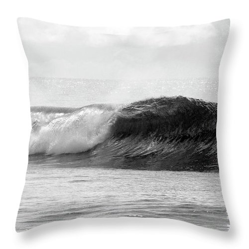 Curve Throw Pillow featuring the photograph Indonesia, North Maluku, Halmahera by Tropicalpixsingapore