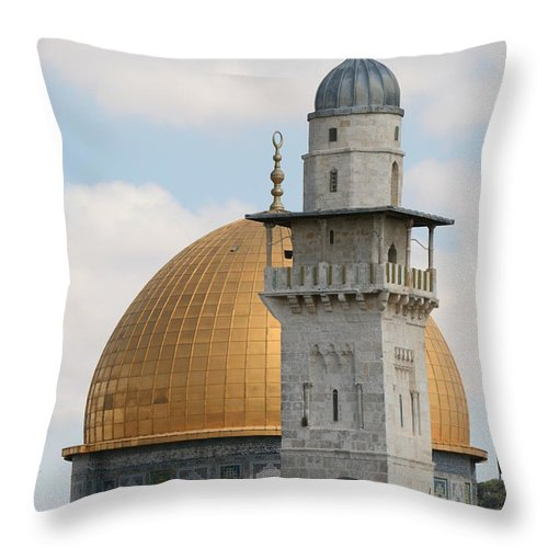 Arch Throw Pillow featuring the photograph Jerusalem by Yelena Strokin