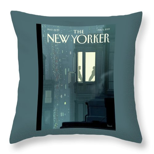 Love Interest Throw Pillow