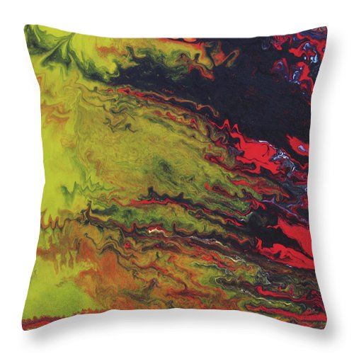 Fusionart Throw Pillow featuring the painting Magical Sky by Ralph White