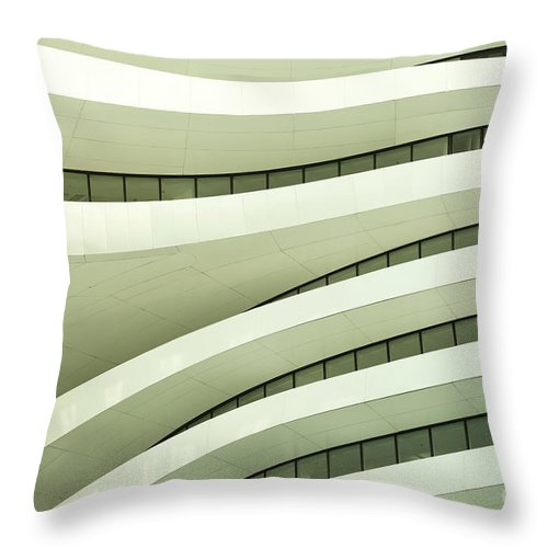 Arch Throw Pillow featuring the photograph Modern Architecture by Phototalk