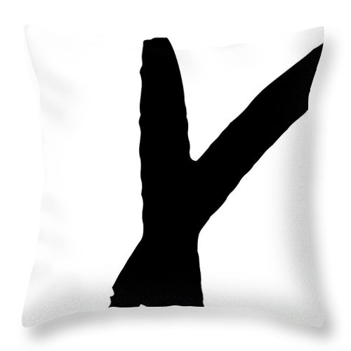 Valentines Throw Pillow featuring the digital art Modern X's And O's I by Sd Graphics Studio