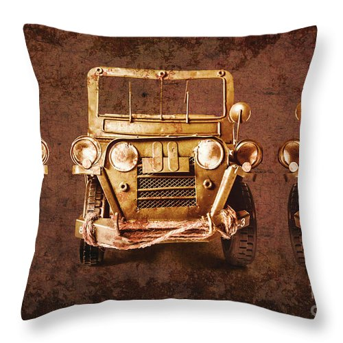 Safari Throw Pillow featuring the photograph Mud Adventure by Jorgo Photography - Wall Art Gallery