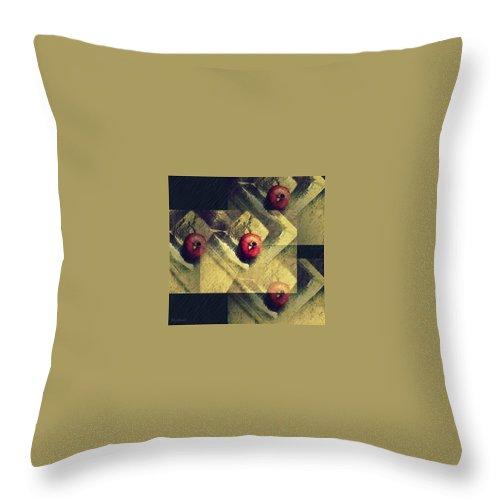 Fruit Throw Pillow featuring the photograph Multiplication by Marija Djedovic