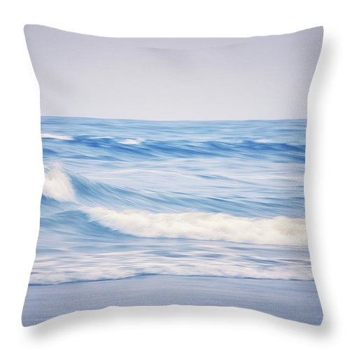 California Throw Pillow featuring the photograph My Therapy by Marnie Patchett