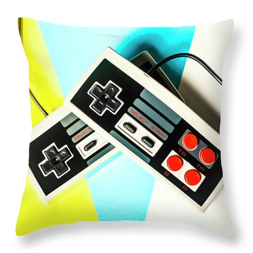 Gaming Throw Pillow featuring the photograph Nestalgia by Jorgo Photography - Wall Art Gallery