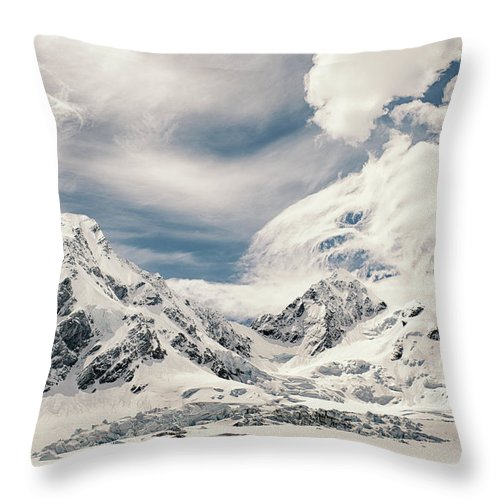 Tranquility Throw Pillow featuring the photograph Nz Landscapes by Devon Strong