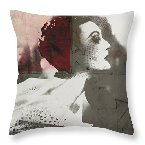 Love Throw Pillow featuring the digital art Only Love Can Break Your Heart by Paul Lovering