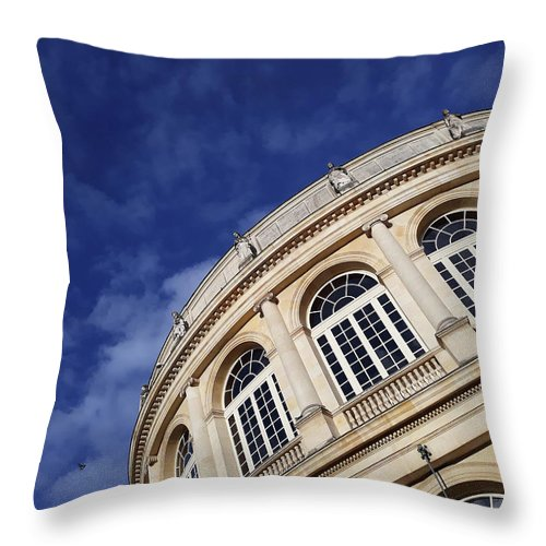 Opera Throw Pillow featuring the photograph Opera De Rennes by Christine AVIGNON
