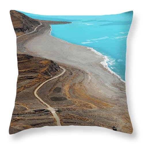 Tranquility Throw Pillow featuring the photograph Perfect Curve by Touch The Word By Heart.
