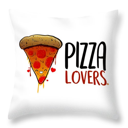 Pizza Lover Throw Pillow For Sale By Cappi Sujana