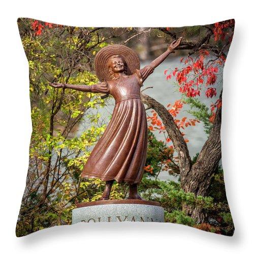 Pollyanna Statue Throw Pillow For Sale By Art Phaneuf