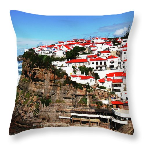 Tranquility Throw Pillow featuring the photograph Portugal by Arthit Somsakul