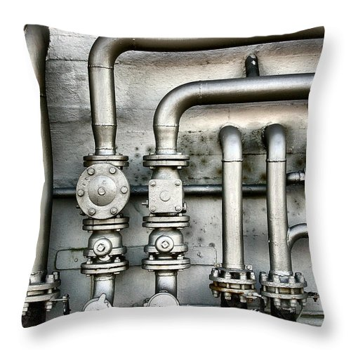 Mineral Throw Pillow featuring the photograph Power Inside by Exkalibur