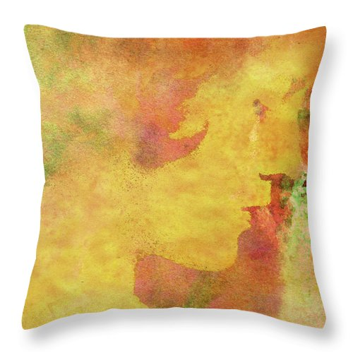 Shades Of You Throw Pillow featuring the digital art Shades of You by Kenneth Rougeau