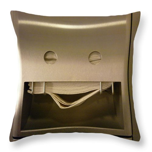 Copenhagen Throw Pillow featuring the photograph Smile by Photo By Dave Gorman