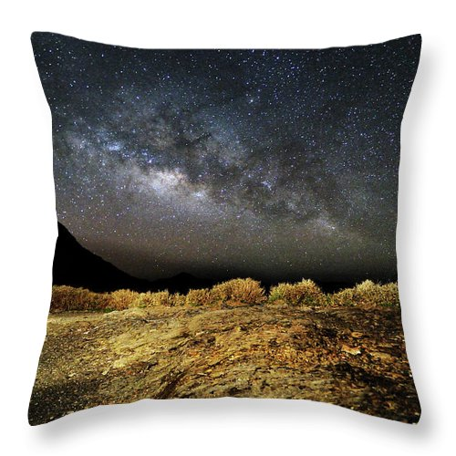 Scenics Throw Pillow featuring the photograph Space by Copyright Of Eason Lin Ladaga