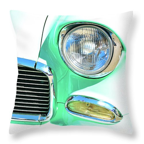 David Lawson Photography Throw Pillow featuring the photograph Splash Of Color by David Lawson
