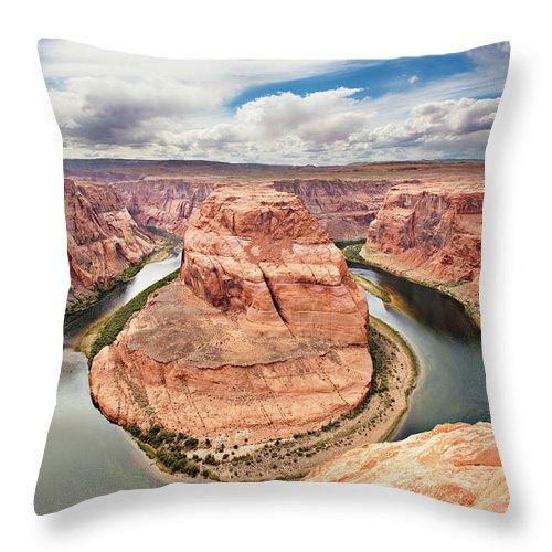 Scenics Throw Pillow featuring the photograph Splendid Arizona by Xavierarnau