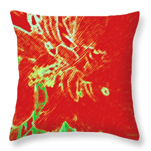State Of Mind Throw Pillow featuring the photograph State of Mind by James Temple